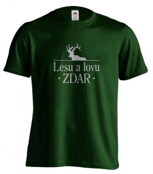 Pánské tričko Lesu a lovu zdar