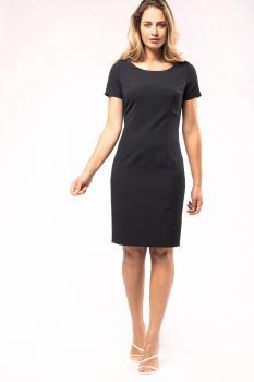 Pouzdrové šaty s krátkým rukávem