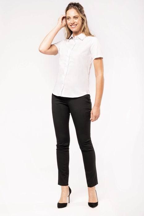 Dámská košile oxford s krátkým rukávem K536- etextil.cz 95c09448ae